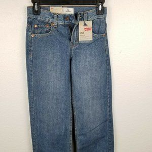 Boys Levi's tapered leg relaxed fit 10 Slim NWT
